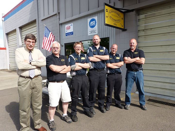 schweitzers-automotive-eugene-springfield-oregon-team